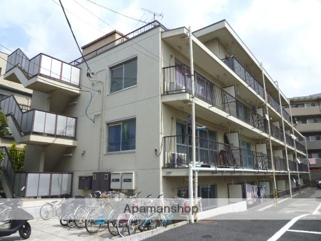 埼玉県戸田市、戸田公園駅徒歩14分の築34年 4階建の賃貸マンション