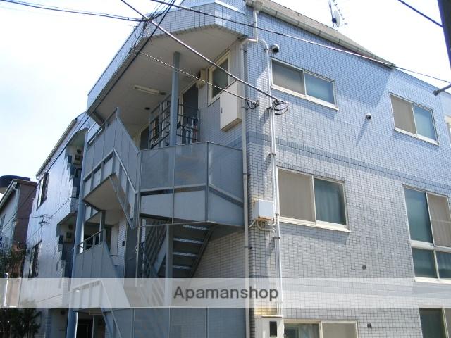埼玉県戸田市、戸田公園駅徒歩24分の築22年 3階建の賃貸アパート