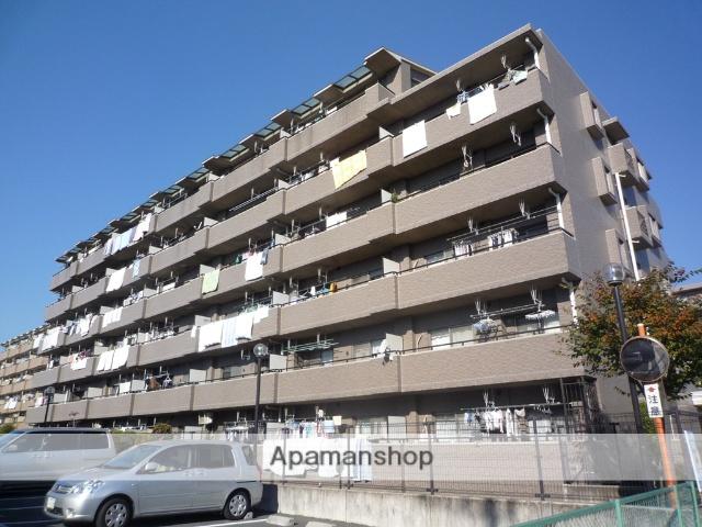 埼玉県戸田市、戸田公園駅徒歩24分の築18年 6階建の賃貸マンション
