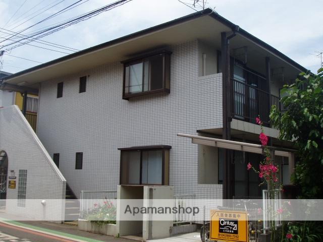 埼玉県所沢市、小手指駅徒歩26分の築27年 2階建の賃貸アパート