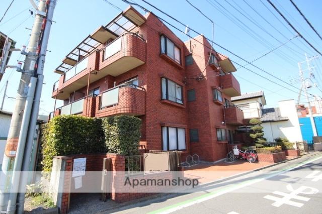 埼玉県所沢市、西所沢駅徒歩13分の築26年 3階建の賃貸マンション