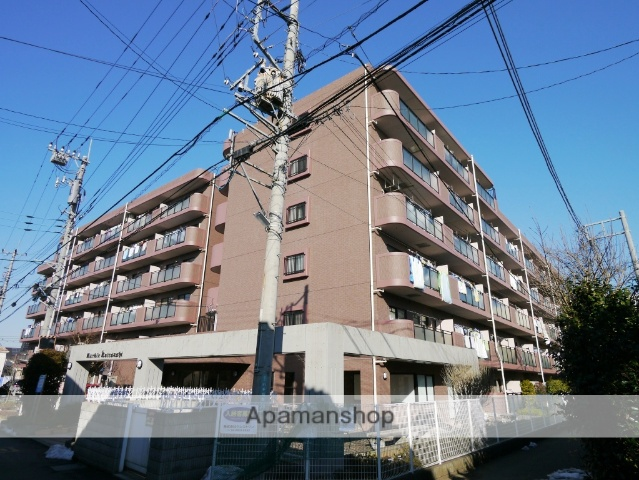埼玉県所沢市、西所沢駅徒歩19分の築17年 6階建の賃貸マンション