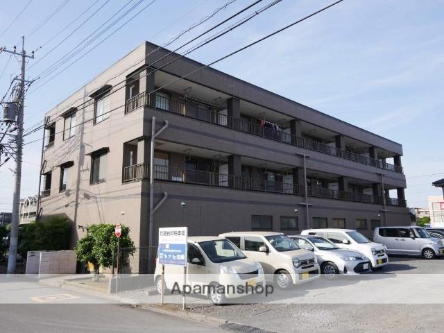 埼玉県所沢市、東所沢駅徒歩3分の築24年 3階建の賃貸マンション