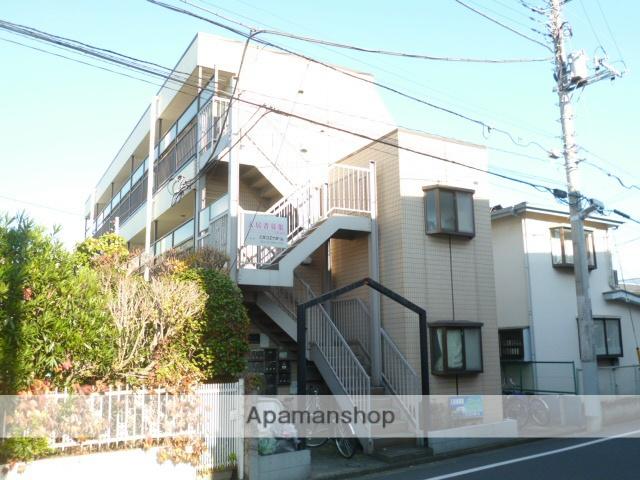 埼玉県所沢市、西所沢駅徒歩20分の築30年 3階建の賃貸マンション