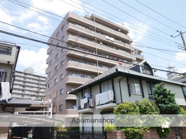 埼玉県所沢市、西所沢駅徒歩2分の築17年 9階建の賃貸マンション