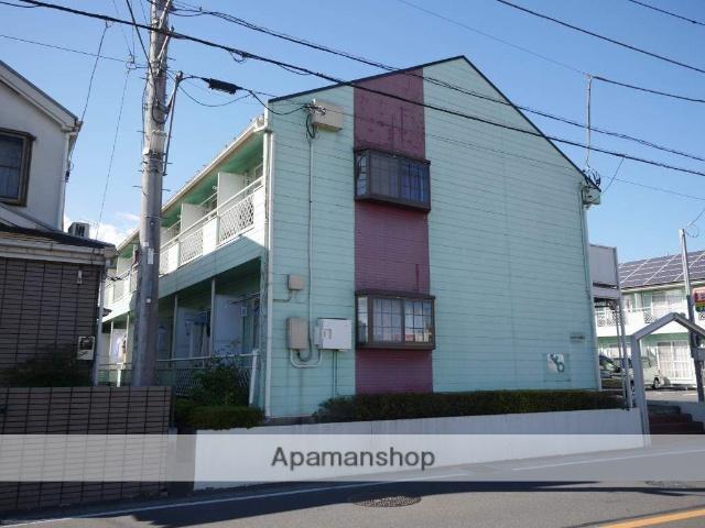 埼玉県所沢市、狭山ヶ丘駅徒歩8分の築23年 2階建の賃貸アパート