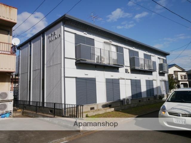 埼玉県所沢市、西所沢駅徒歩23分の築34年 2階建の賃貸アパート