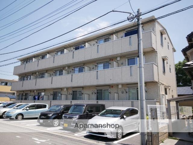 埼玉県所沢市、東所沢駅徒歩6分の築4年 3階建の賃貸アパート
