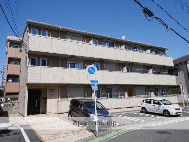 埼玉県所沢市、東所沢駅徒歩13分の築5年 3階建の賃貸アパート