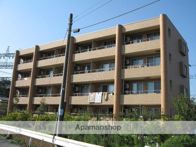 埼玉県所沢市、西所沢駅徒歩4分の築12年 4階建の賃貸マンション