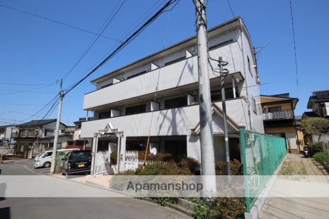 埼玉県所沢市、西所沢駅徒歩6分の築30年 3階建の賃貸マンション