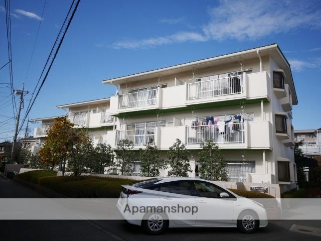 埼玉県所沢市、西所沢駅徒歩20分の築33年 3階建の賃貸マンション