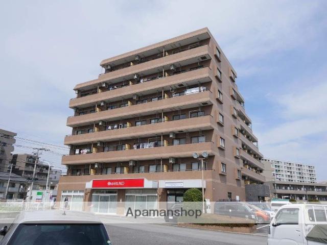 埼玉県所沢市、新秋津駅徒歩26分の築20年 7階建の賃貸マンション