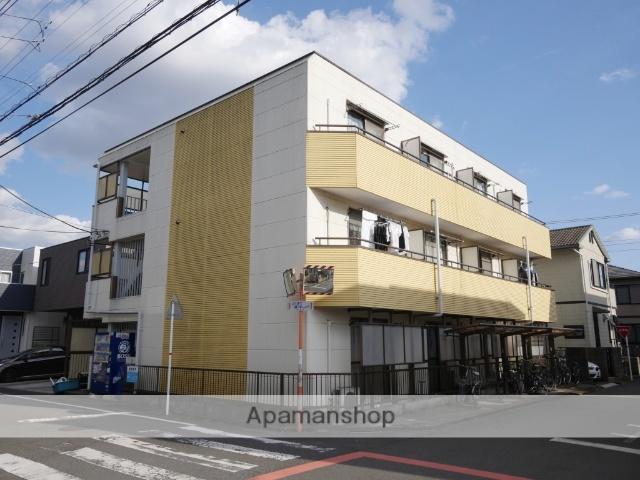 埼玉県所沢市、西所沢駅徒歩24分の築18年 3階建の賃貸マンション