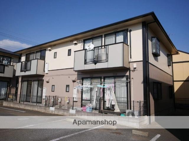埼玉県所沢市、航空公園駅西武バスバス7分中富南下車後徒歩4分の築23年 2階建の賃貸アパート