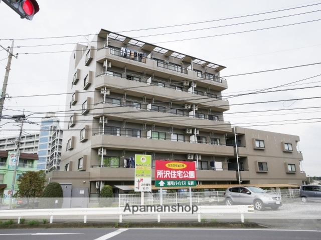 埼玉県所沢市、新秋津駅徒歩26分の築21年 6階建の賃貸マンション