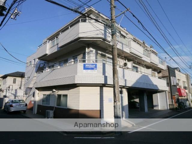 埼玉県所沢市、西所沢駅徒歩25分の築32年 3階建の賃貸マンション