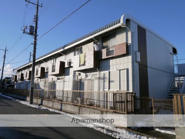埼玉県所沢市、小手指駅徒歩17分の築22年 2階建の賃貸アパート