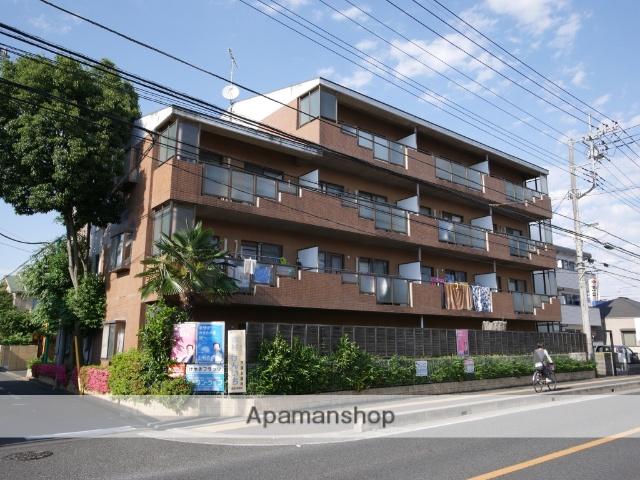 埼玉県所沢市、新秋津駅徒歩27分の築27年 4階建の賃貸マンション