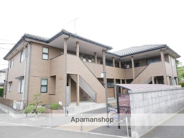 埼玉県所沢市、西所沢駅徒歩26分の築21年 2階建の賃貸アパート