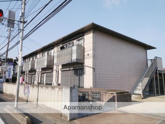 埼玉県所沢市、狭山ヶ丘駅徒歩10分の築13年 2階建の賃貸アパート