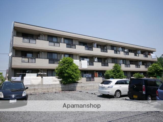 埼玉県所沢市、東所沢駅徒歩10分の築23年 3階建の賃貸アパート