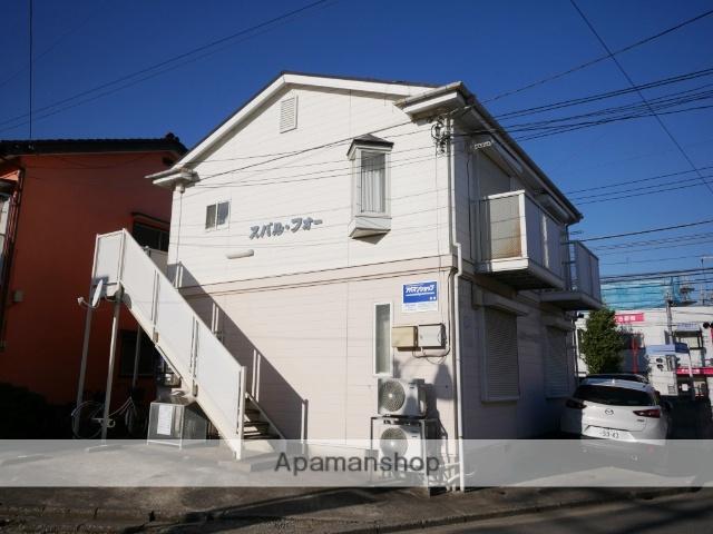 埼玉県所沢市、西所沢駅徒歩10分の築27年 2階建の賃貸アパート