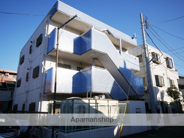 埼玉県所沢市、西所沢駅徒歩21分の築27年 3階建の賃貸マンション