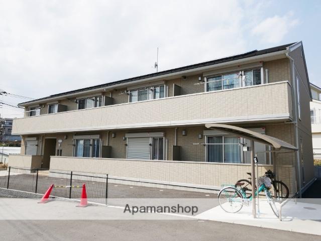 埼玉県所沢市、東所沢駅徒歩15分の築2年 2階建の賃貸アパート