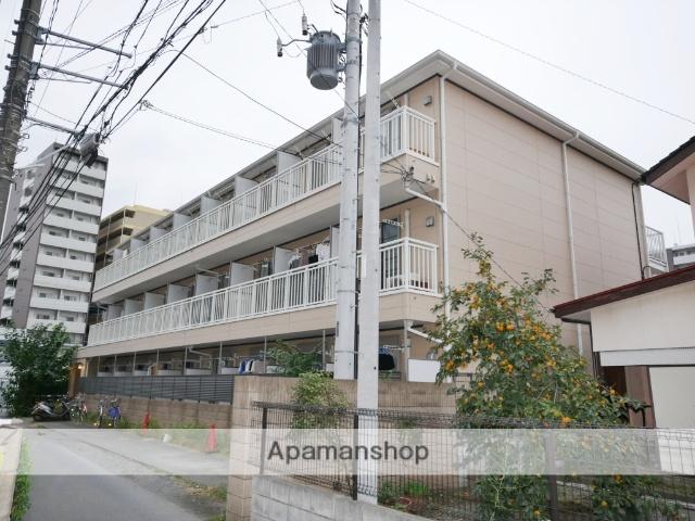 埼玉県所沢市、所沢駅徒歩5分の築8年 3階建の賃貸アパート