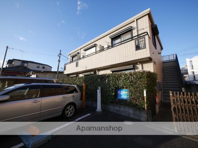 埼玉県所沢市、西所沢駅徒歩21分の築21年 2階建の賃貸アパート