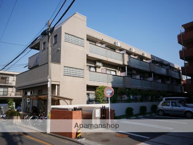 埼玉県所沢市、西所沢駅徒歩18分の築25年 3階建の賃貸マンション