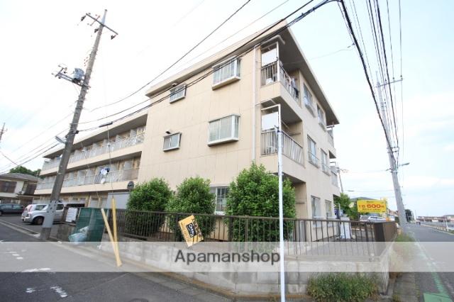 埼玉県所沢市、東所沢駅徒歩4分の築32年 3階建の賃貸マンション