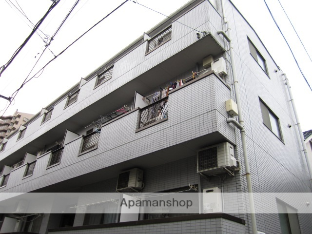 埼玉県所沢市、所沢駅徒歩10分の築26年 3階建の賃貸マンション