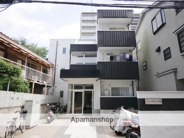 埼玉県所沢市、所沢駅徒歩12分の築24年 3階建の賃貸マンション