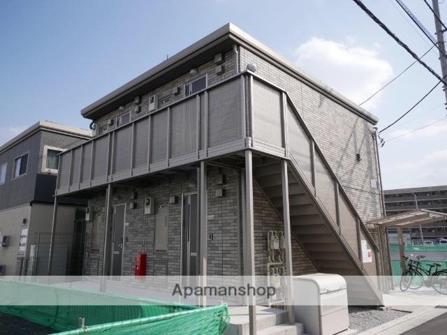 埼玉県所沢市、西所沢駅徒歩19分の新築 2階建の賃貸アパート