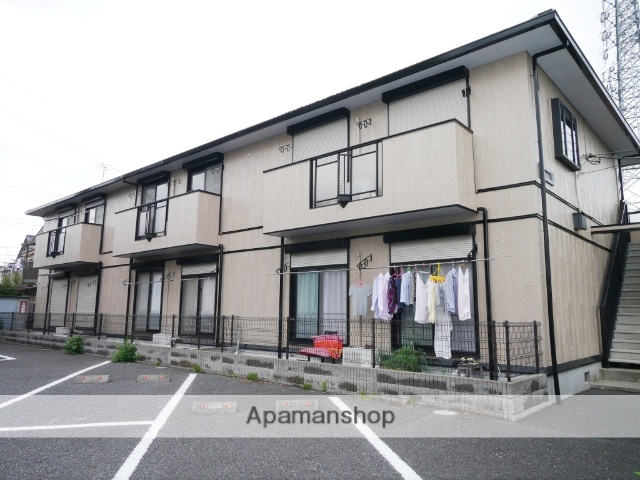 埼玉県所沢市、西所沢駅徒歩19分の築18年 2階建の賃貸アパート
