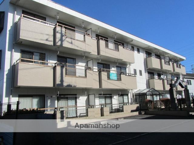埼玉県所沢市、西所沢駅徒歩18分の築27年 3階建の賃貸マンション