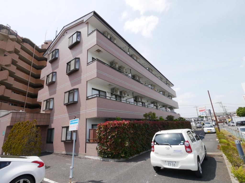 埼玉県所沢市、小手指駅徒歩25分の築17年 4階建の賃貸マンション