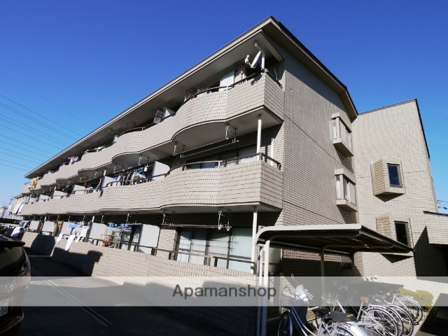 埼玉県所沢市、西所沢駅徒歩13分の築28年 3階建の賃貸マンション