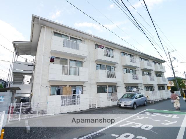 埼玉県所沢市、西所沢駅徒歩6分の築27年 3階建の賃貸マンション