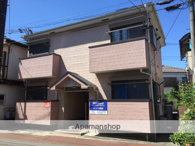 埼玉県所沢市、狭山ヶ丘駅徒歩10分の築25年 2階建の賃貸アパート