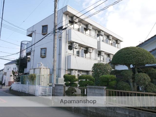 埼玉県所沢市、狭山ヶ丘駅徒歩17分の築30年 3階建の賃貸マンション