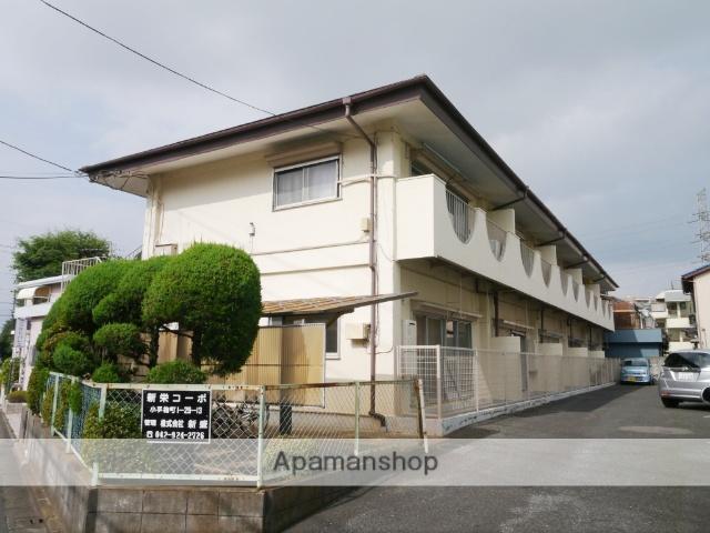 埼玉県所沢市、小手指駅徒歩6分の築39年 2階建の賃貸アパート