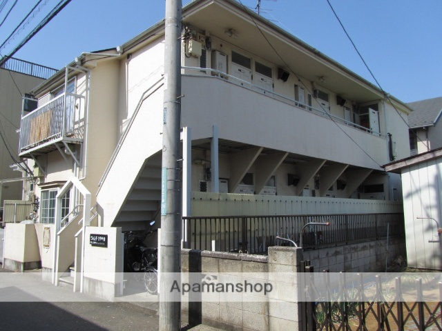 埼玉県所沢市、小手指駅徒歩22分の築28年 2階建の賃貸アパート