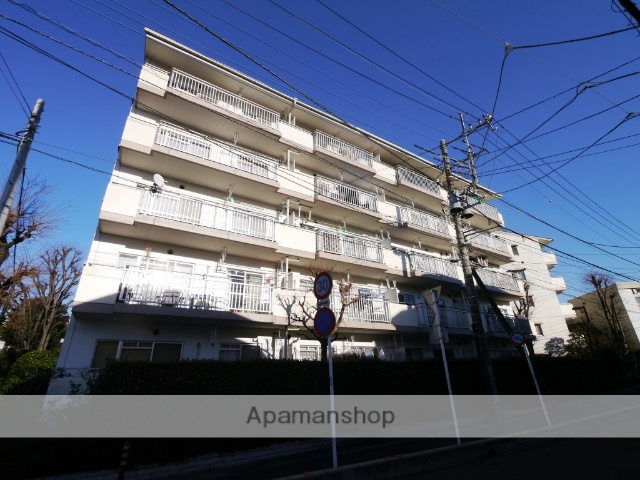 埼玉県所沢市、航空公園駅徒歩22分の築25年 5階建の賃貸マンション