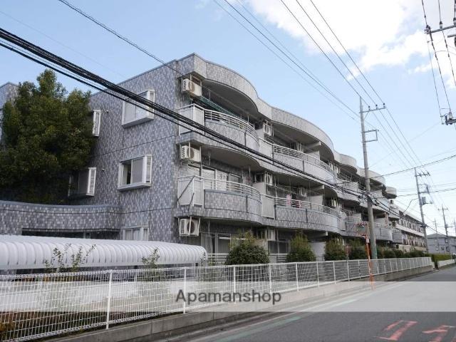 埼玉県所沢市、西所沢駅徒歩13分の築22年 3階建の賃貸マンション