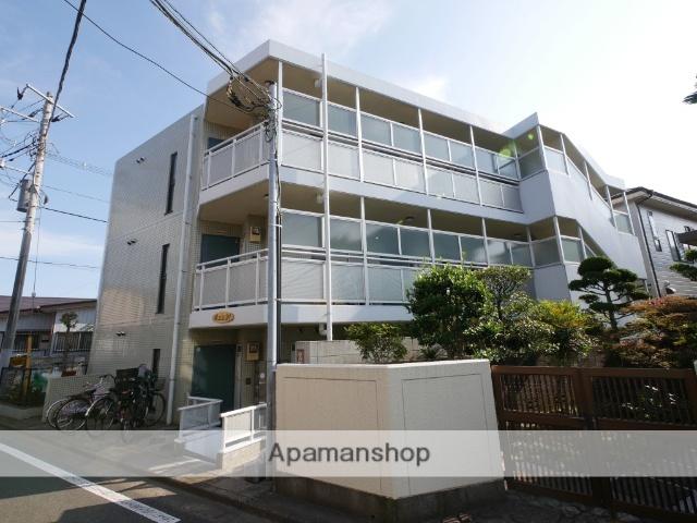 埼玉県所沢市、西所沢駅徒歩12分の築25年 3階建の賃貸マンション