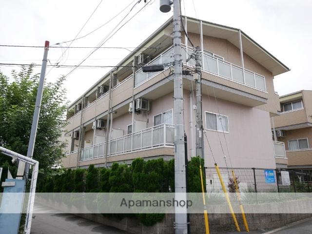 埼玉県所沢市、西所沢駅徒歩18分の築14年 3階建の賃貸マンション