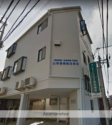 埼玉県所沢市、所沢駅徒歩8分の築18年 3階建の賃貸アパート